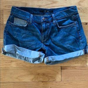 Joes Jeans denim cuffed shorts
